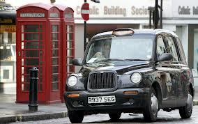 telefonzelle und taxi