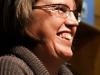 Anja Marschall nach der Lesung